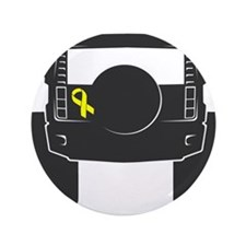 """SUV Ribbon 3.5"""" Button (100 pack)"""