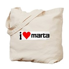 """I Love MARTA"" Tote Bag"