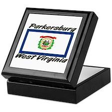 Parkersburg West Virginia Keepsake Box
