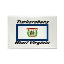 Parkersburg West Virginia Rectangle Magnet