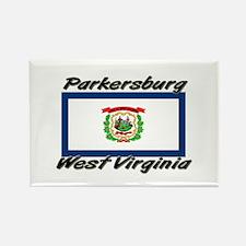 Parkersburg West Virginia Rectangle Magnet