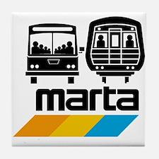 MARTA Tile Coaster