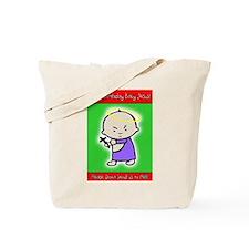 Cute Happy birthday baby jesus Tote Bag