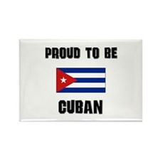 Proud To Be CUBAN Rectangle Magnet