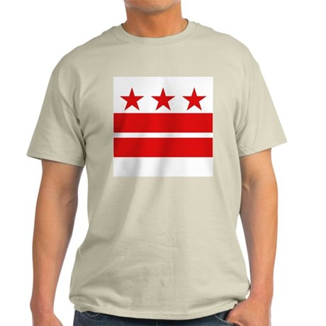 Three Stars and Two Bars Light T-Shirt