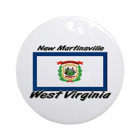 New Martinsville West Virginia Ornament (Round)