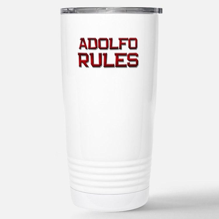 adolfo rules Travel Mug