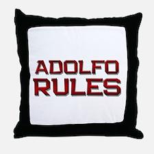 adolfo rules Throw Pillow