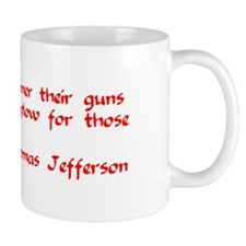 GUNS INTO PLOWS! Mug