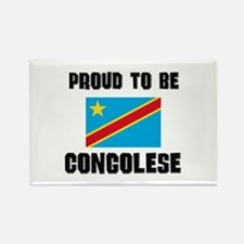 Proud To Be CONGOLESE Rectangle Magnet