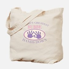 Best Bubbe Hands Down Tote Bag