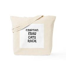 EGYPTIAN MAU CATS ROCK Tote Bag