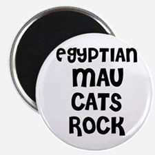 EGYPTIAN MAU CATS ROCK Magnet