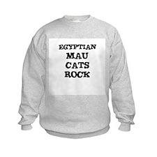 EGYPTIAN MAU CATS ROCK Sweatshirt