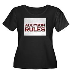 addyson rules T
