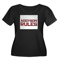 addyson rules T