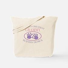 Best Grammy Hands Down Tote Bag