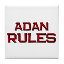 adan rules Tile Coaster