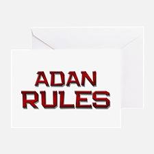 adan rules Greeting Card
