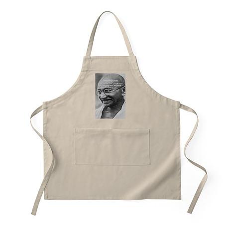 Power of Truth: Gandhi BBQ Apron