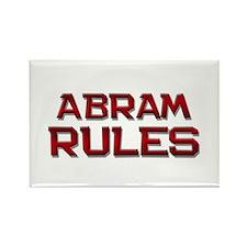 abram rules Rectangle Magnet