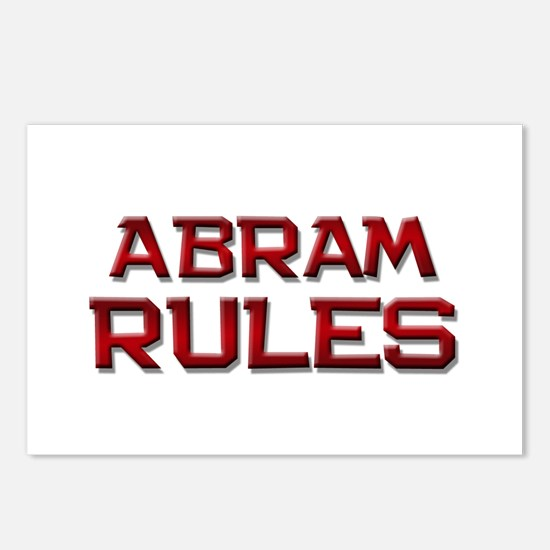 abram rules Postcards (Package of 8)