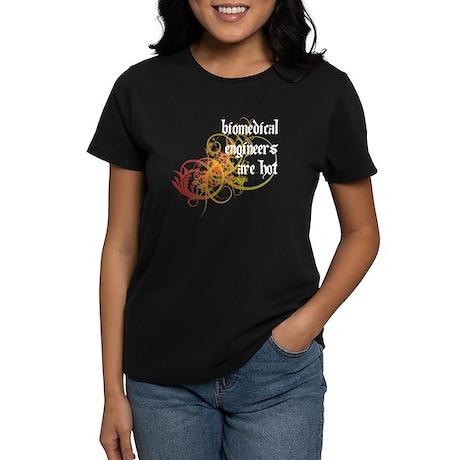 Biomedical Engineers Are Hot Women's Dark T-Shirt