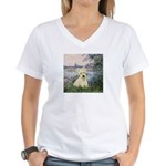 Seine / Scottie (w) Women's V-Neck T-Shirt
