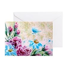 Floral Fantasy Greeting Cards (Pk of 10)