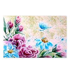 Floral Fantasy Postcards (Package of 8)