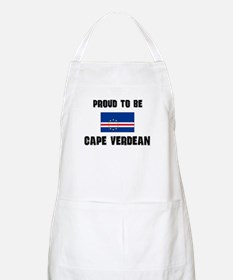 Proud To Be CAPE VERDEAN BBQ Apron