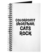 COLORPOINT SHORTHAIR CATS ROC Journal