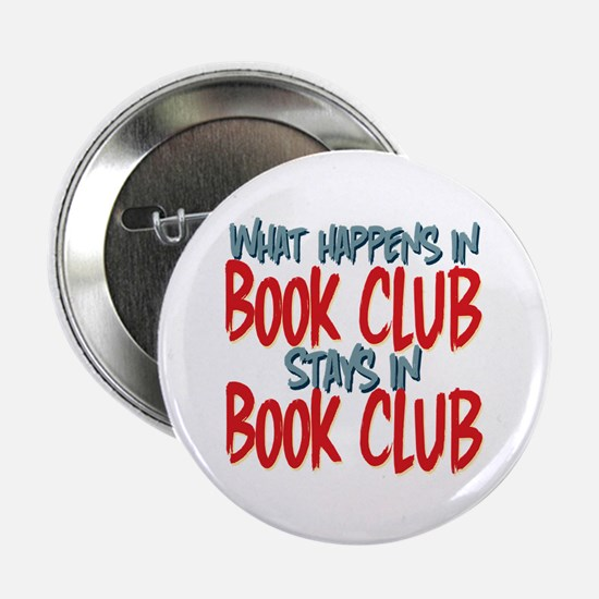 "What Happens In Book Club 2.25"" Button (10 pack)"
