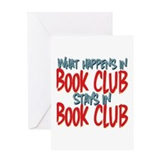 What Happens In Book Club Greeting Card