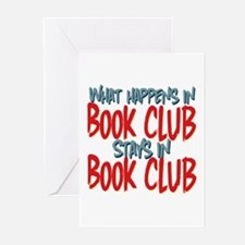 What Happens In Book Club Greeting Cards (Pk of 10