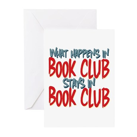 What Happens In Book Club Greeting Cards (Pk of 20
