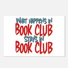 What Happens In Book Club Postcards (Package of 8)