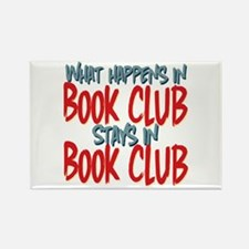 What Happens In Book Club Rectangle Magnet