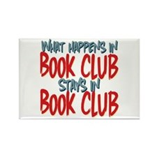 What Happens In Book Club Rectangle Magnet (10 pac