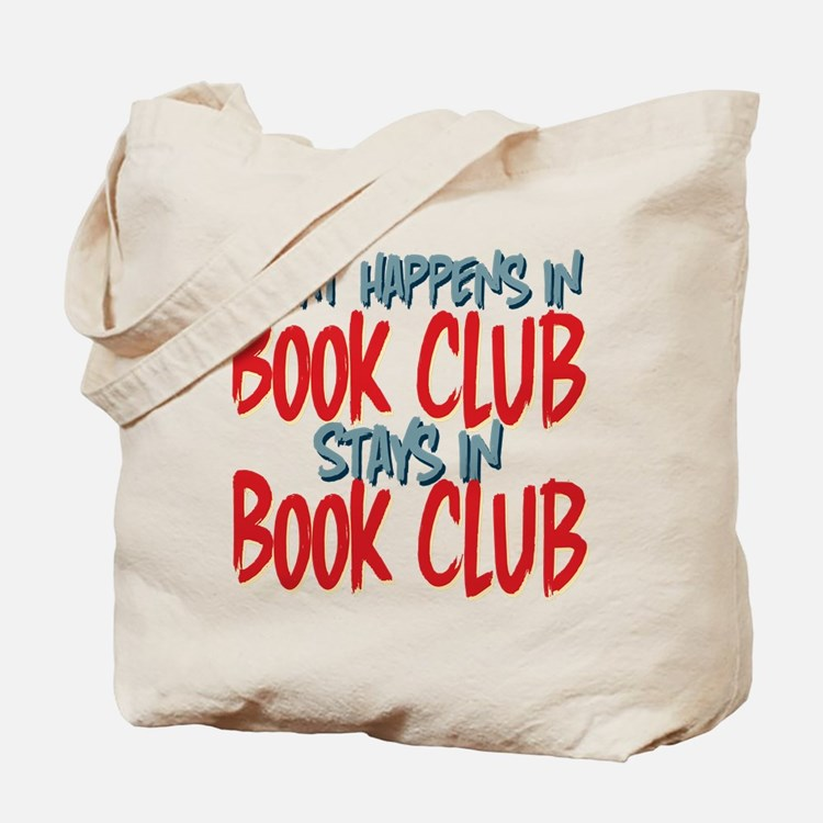 What Happens In Book Club Tote Bag