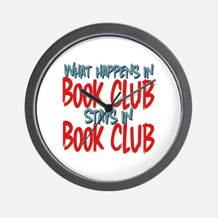 What Happens In Book Club Wall Clock