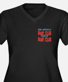 What Happens In Book Club Women's Plus Size V-Neck