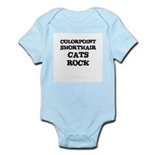COLORPOINT SHORTHAIR CATS ROC Infant Creeper