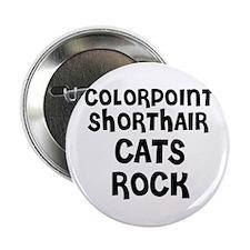 COLORPOINT SHORTHAIR CATS ROC Button