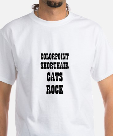 COLORPOINT SHORTHAIR CATS ROC Shirt