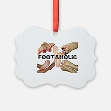 Cute Feet Ornament