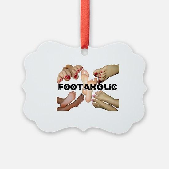 Cute Foot Ornament