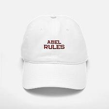 abel rules Baseball Baseball Cap