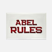 abel rules Rectangle Magnet