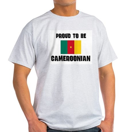Proud To Be CAMEROONIAN Light T-Shirt